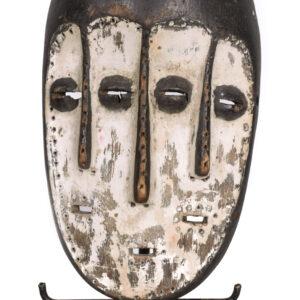 Triple faces mask - Wood - Lega / Lengola - DR Congo