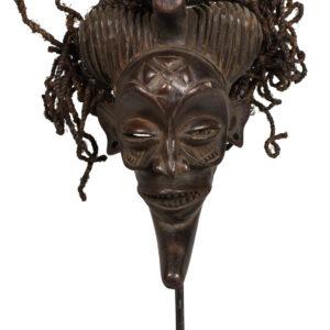 Mask - Wood, Rope - Chokwe - Congo DRC