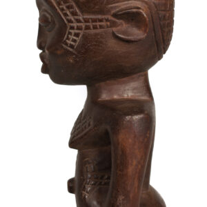 Palm wine Cup - Wood - Kuba - Congo DRC