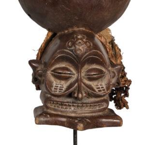 Chihongo Mask - Raphia, Rope - Chokwe - DR Congo