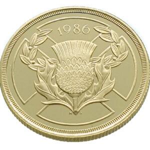 United Kingdom 2 Pounds 1986 Elizabeth II - Gold Proof