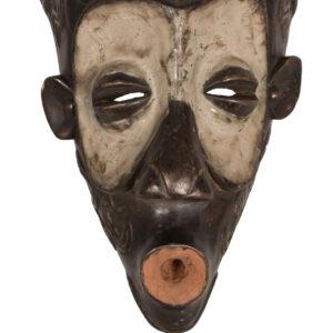 Circumcision Mask - Wood - Bena Lulua - DR Congo