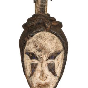 Mask - Wood - Agbogho Mmwo - Igbo / Ibo - Nigeria