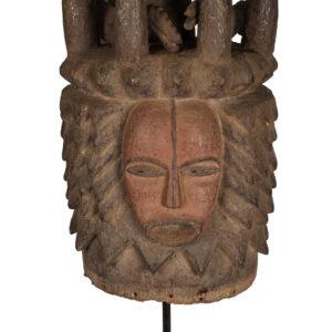 Crest Mask - Wood - Igbo / Ibo - Nigeria