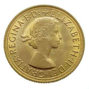 United Kingdom Sovereign 1959 Elizabeth II - Gold EF / FDC